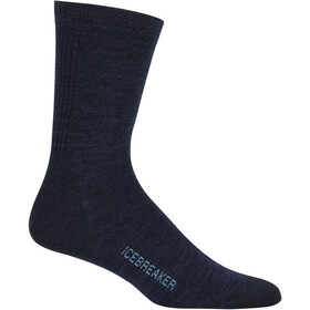Icebreaker Lifestyle Ultra Light Crew Socks Herr fathom hthr